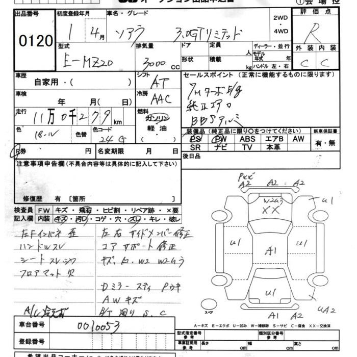 Toyota Soarer Specification