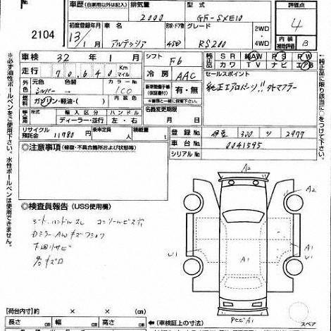 Toyota Altezza Specification