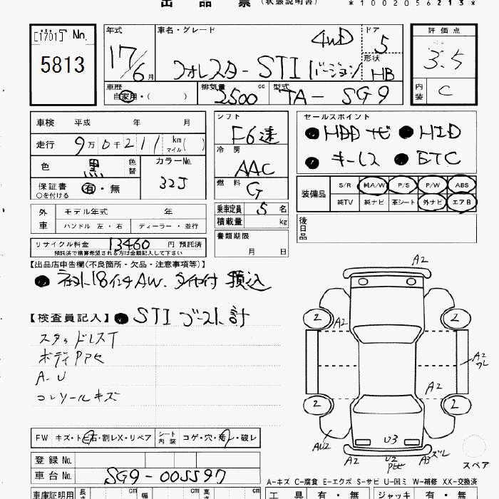 Subaru Forester Specification
