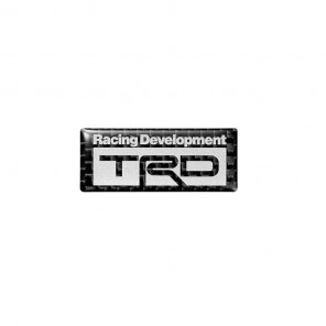 TRD Carbon Sticker Emblem