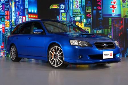 Subaru Legacy Tuned by STi