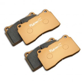 Mugen Type Competition Brake Pads - Front - Civic Type R FK2 / FK8