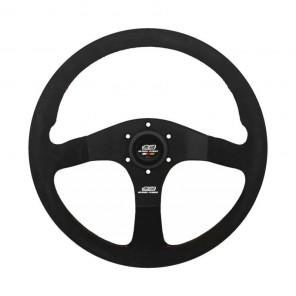 Mugen Racing III Steering Wheel - Suede