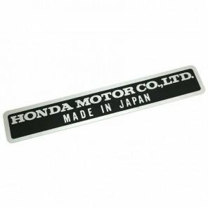 Genuine Honda Motor Co Sticker Emblem