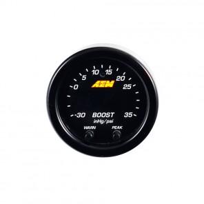 AEM X-Series Digital Boost Pressure Gauge