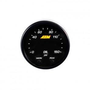 AEM X-Series Digital Oil Pressure Gauge
