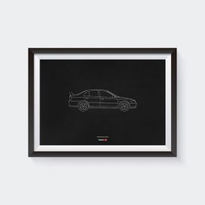Limited Edition Accord Type R CH1 Anniversary Poster