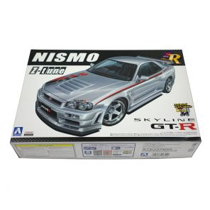 Aoshima Nissan Skyline R34 GTR Z-Tune Model Kit 1:24