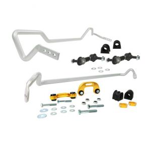 Whiteline Front and Rear Anti Roll Bar Kit - Impreza WRX STI GDB (02-03)