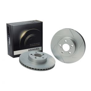 Dixcel SD Slotted Brake Discs - Rear - Silvia S15