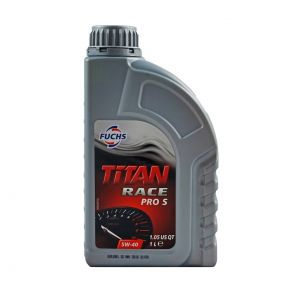 Fuchs Titan Race Pro S 5W40 Fully Synthetic Oil - 1 Litre