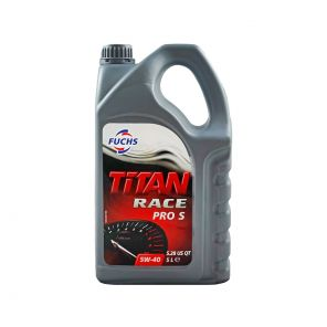 Fuchs Titan Race Pro S 5W40 Fully Synthetic Oil - 5 Litre