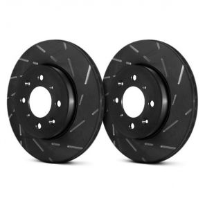 EBC USR Slotted Brake Discs - Rear - Civic Type R EK9