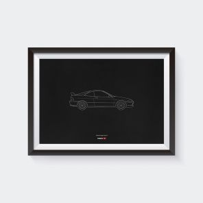 Limited Edition Integra Type R DC2 Anniversary Poster