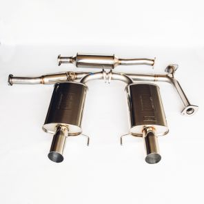 Fujitsubo Legalis R Cat Back Exhaust - Accord CL9 / Euro R CL7