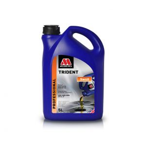 Millers Trident 5W40 Fully Synthetic Oil