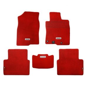 Mugen Sports Floor Mat Set - Civic FK7 / FK8 - Red