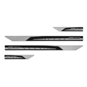 Mugen Door Sill Scuff Plate Set - Civic FK7 / FK8 - Black