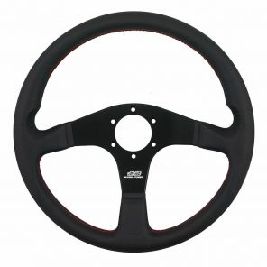 Mugen Racing III Steering Wheel - Leather