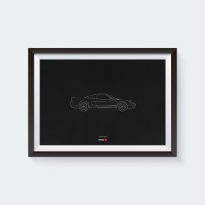 Limited Edition NSX Type R Anniversary Poster