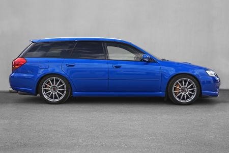 Subaru Legacy Tuned by STI