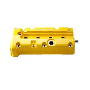 Spoon Rocker Cover, Yellow - Civic FN2/FD2