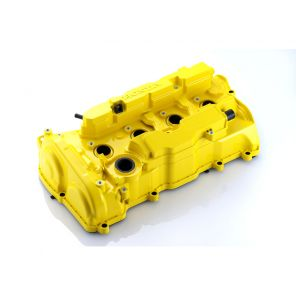 Spoon Rocker Cover, Yellow - Civic FK8