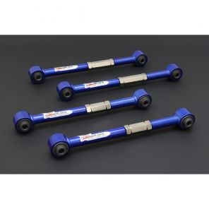 Hardrace Rear Lateral Toe Arms (Hardened Rubber) - Accord CL7/CL9
