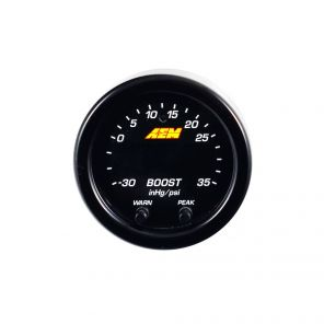 AEM X-Series Digital Boost Pressure Gauge