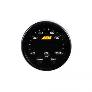 AEM X-Series Digital Oil Pressure Gauge