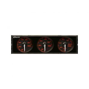 Defi Single DIN Triple Gauge Cluster
