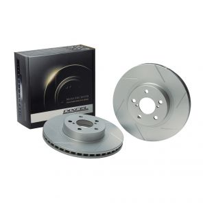Dixcel SD Slotted Brake Discs - Civic Type R FD2
