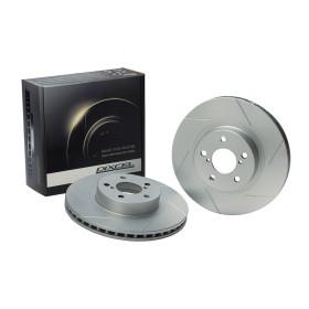 Dixcel SD Slotted Brake Discs - Integra Type R DC5