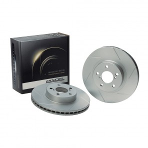 Dixcel SD Slotted Brake Discs - Civic Type R EK9