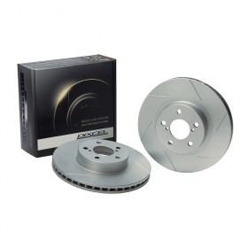 Dixcel SD Slotted Brake Discs - RX7 FD3S (314mm)