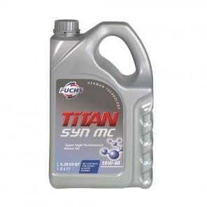 Fuchs Titan Syn MC 10W40 Fully Synthetic Oil - 5L