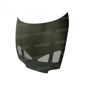 Seibon Carbon Fibre Bonnet - TR Style - Supra JZA80