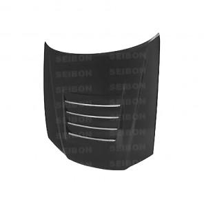 Seibon Carbon Fibre Bonnet - DS Style - R34 GTR