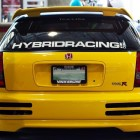 Hybrid Racing Windshield Banner
