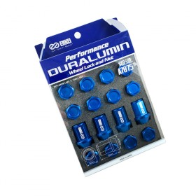 Enkei Duralumin Wheel Nut and Lock Set