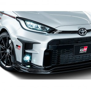 TRD GR Front Spoiler & Rear Spoiler Extension - Black - GR Yaris