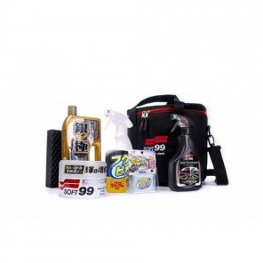 Soft99 Basic Detailing Kit & Bag - Light Colours