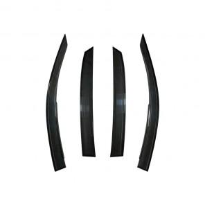 Mugen Ventilated Wind Deflectors - Civic FK7 / FK8