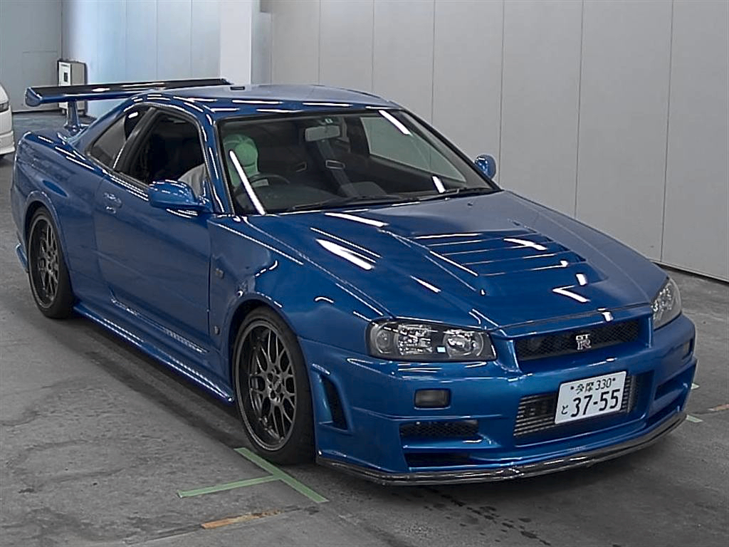 Auction Report R34 Gtr Special