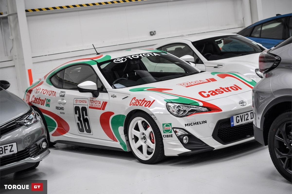 Toyota GB's Heritage Fleet