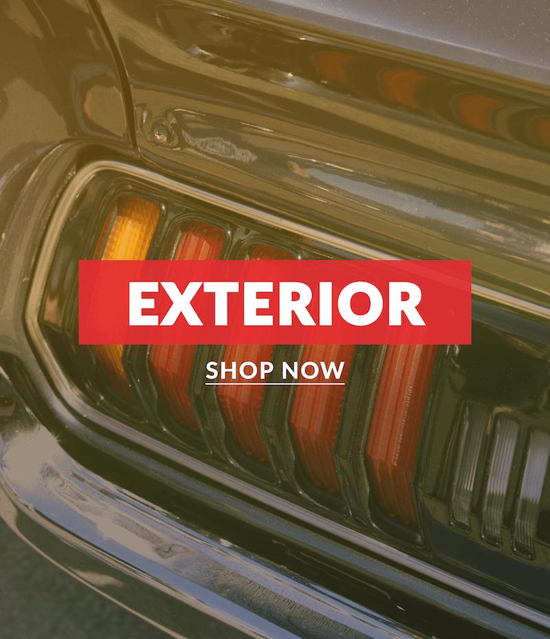 EXTERIOR - SHOP NOW